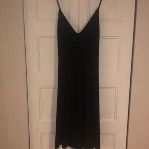 FreePeople Intimately- black slip dress